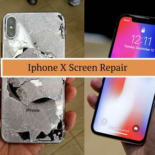 IPhone X Screen Crack Replacement