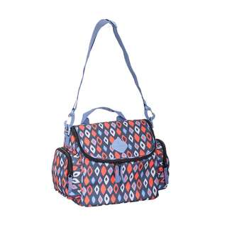 [BARU/SALE] - Okiedog Freckles Rombe Cooler Bag - Blue Red
