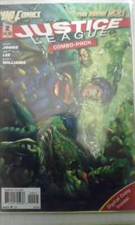DC COMICS NEW 52 JUSTICE LEAGUE COMBO PACK #2, 3 & 4