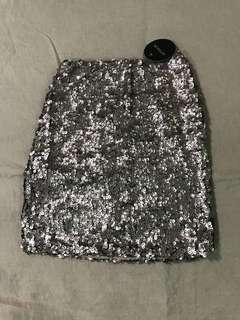 Cotton-On Sequin Skirt