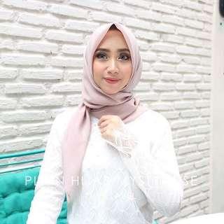 plain hijab nwe.label mistyrose