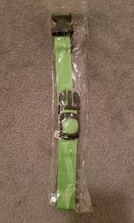 Medium light green brand new collar