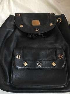 MCM Leather Backpack medium