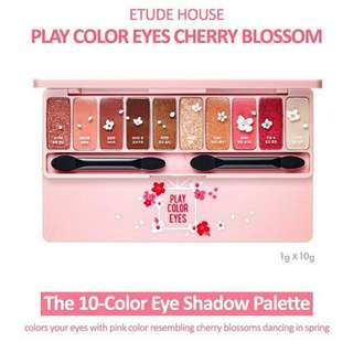 Etude PLAY COLOR EYES – CHERRY BLOSSOM (Eyeshadow) Special Edition