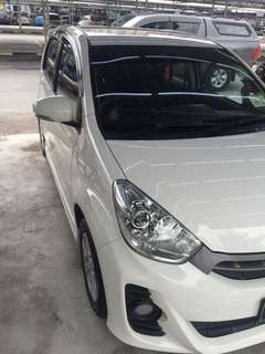 Perodua myvi 1.3 (A) year 2014 daily rent for grab car