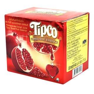 Tipco Super Fruit Essence 100% Pomegranate ( 110ml x 4 ) x 2box