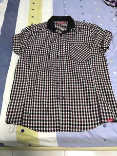 CLEARANCE SALE! Kickers Button Up Short Sleeve Shirt