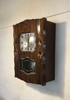 Antique German westminster clock