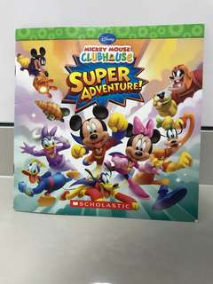 Mickey Mouse Clubhouse Super Adventure Story Book