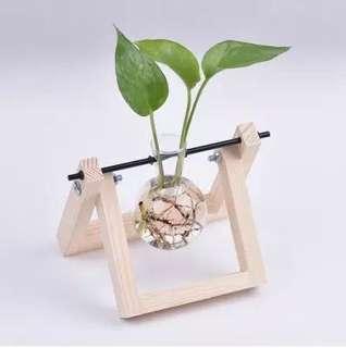 ⭐️[Ready Stocks] Glass Vases flower pots planters crystal glass pots home decoration wedding glass pots fish tank desktop Home pots