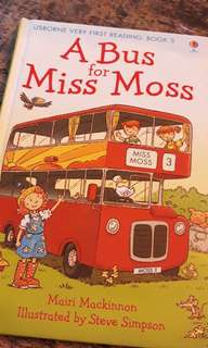 Usborne books for young readers: A Bus for Miss Moss