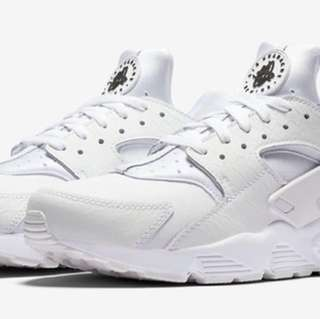 Nike air huarache triple white leather
