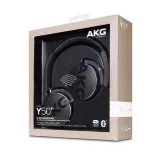 [New] AKG Y50BT Black On-ear Bluetooth Wireless Headphones