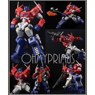 Flame Toys Transformers Furai Model 01 Optimus Prime (Attack Mode) - Model Kit (Official Hasbro Licensed Product)