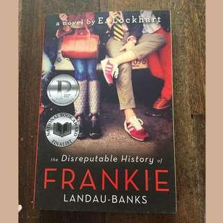 The Disreputable History of Frankie Landau-Banks by E. Lockhart SIGNED