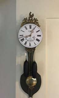 "Vintage Orfac 33"" contoise wall clock"
