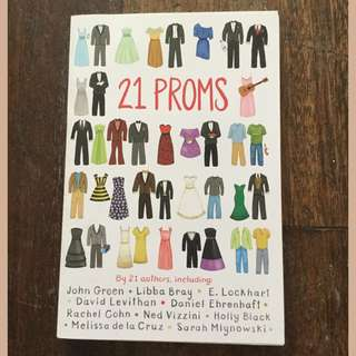 21 Proms by various authors SIGNED by E. Lockhart
