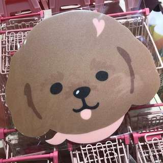 韓國Poodle Mouse Pad 貴婦狗滑鼠墊