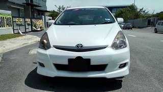 SAMBUNG BAYAR/CONTINUE LOAN  TOYOTA WISH 2.0 AUTO YEAR 2006/2017 MONTHLY RM 1154 BALANCE 4 YEARS 10 MONTHS ROADTAX MARCH 2019  DP KLIK wasap.my/60133524312/wish