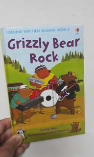 Usborne books for young readers: Grizzly Bear Rock