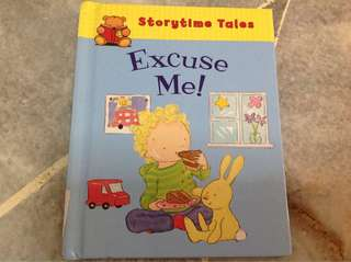 Excuse me storybook