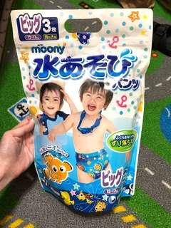 滿意寶寶游泳尿布XL-尼莫款