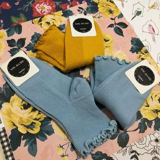 [Clearance] Brandy Melville inspired ruffled socks