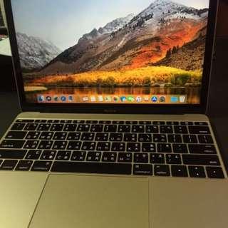 Macbook 12吋 2015 256g
