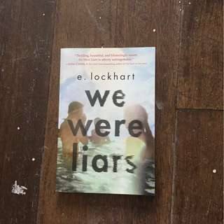 We Were Liars by E. Lockhart SIGNED