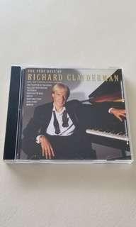 The very best Richard Claydemen CD (Postage free)