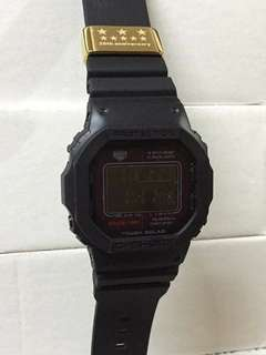 GSHOCK MATTE BLACK WATCH