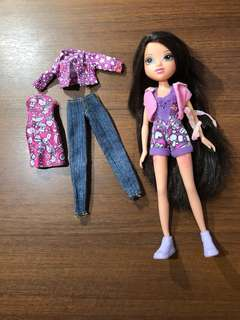 Moxie Doll and Clothes