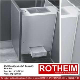 Multifunctional High capacity Rice Box