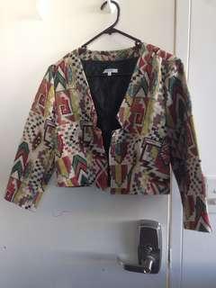 Coloured Jacket - Size 12