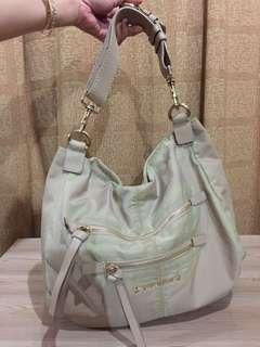 Authentic Givenchy Nylon/leather Shoulder Bag