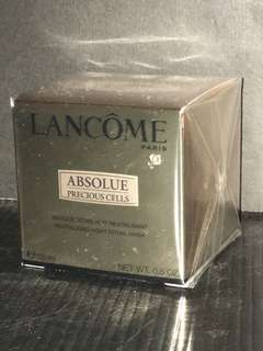 Lancome Absolue Precious Cells Revitalizing Night Ritual Mask 極緻完美晚間修護面膜 15ml
