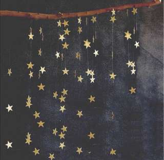 Twinkle Star Garland - Party / wedding / backdrop / bunting