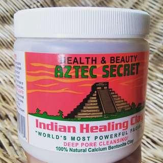 4 pcs left Aztec Secret Indian Healing Clay