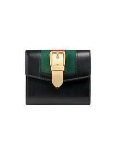 GUCCI SYLVIE LEATHER WALLET (NEW)