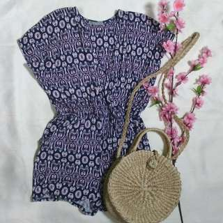 Cute and Comfy Purple Romper