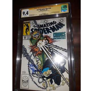 AMAZING SPIDER-MAN #298 CGC SS 9.4 Signed by TODD MCFARLANE ! Comic book spiderman