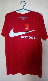Nike JDI (red) made in Bangladesh