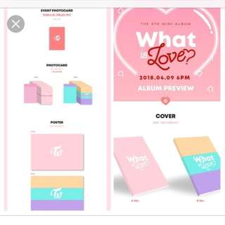 TWICE What Is Love ALBUMS