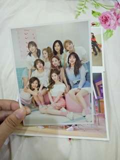 Twice official postcards