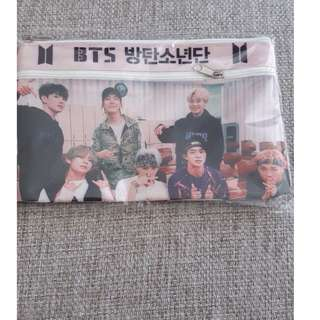 [√] BTS PENCIL CASE