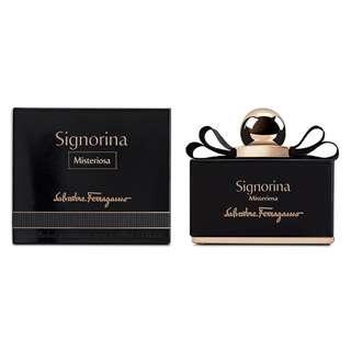 Salvatore Ferragamo Signorina Misteriosa EDP for Women (30ml/50ml/100ml/Tester) Black