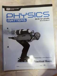 Physics Matters