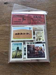 Sticker stamp