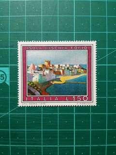 [均一價$10]1976 意大利 旅遊景區 新票一枚