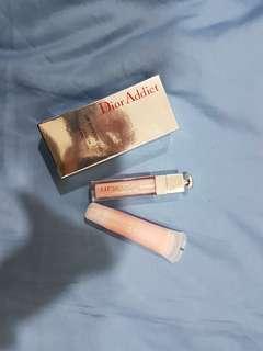 Dior Lip Maximizer & Lancome Juicy Tubes